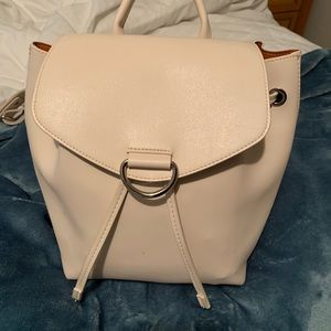 Light pink backpack from Urban Outfitters